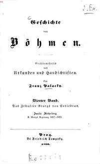 Geschichte von Böhmen : größtentheils nach Urkunden und Handschriften. 4,2