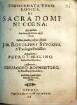 Theoremata theologica de sacra domini coena