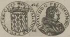 Bildnis des Honoratius II. von Monaco