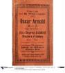 Katalog der Firma Oscar Arnold Hut-Engros-Geschäft Mützen u. Pelzwaren Berlin