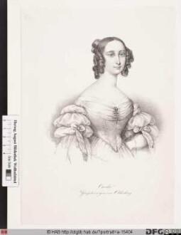 Bildnis Cäcilie, Großherzogin von Oldenburg, geb. Prinzessin von Schweden