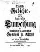 Deutsche Gedichte, welche bey der feyerlichen Einweihung des Königlichen Academischen Gymnasii zu Altona oder auf deren Veranlassung an das Licht getreten sind