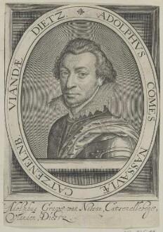 Bildnis des Adolphvs Nassavie