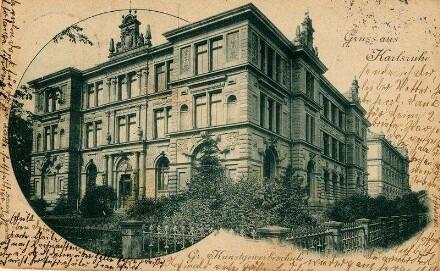 Kunstgewerbeschule, Kunstgewerbemuseum, Reinhold-Frank-Straße 81 (Westendstraße 81)