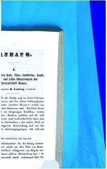 Jahresbericht der Wetterauischen Gesellschaft für die Gesammte Naturkunde zu Hanau. 1850/51, 1850/51