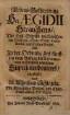 Lebens-Beschreibung H[err]n Aegidii Strauchens ... des fünfften vom Anfang der Reformation in Dreßden gewesenen Superintendentens
