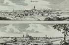 Panoramaansichten von Großenhain und Hertzberg