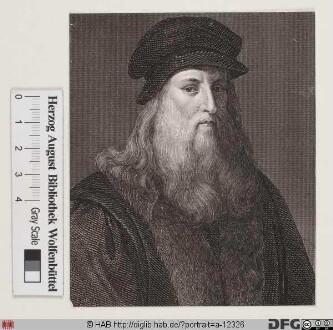 Bildnis Leonardo da Vinci