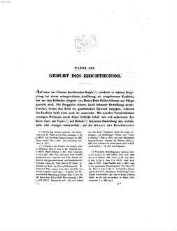 Auserlesene Griechische Vasenbilder, hauptsächlich Etruskischen Fundorts. 3. Heroenbilder. - 1847