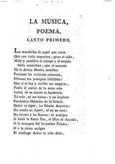 ˜Laœ musica : poema