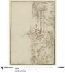 Entwurf für die rechte Hälfte eines dekorativen Panneau