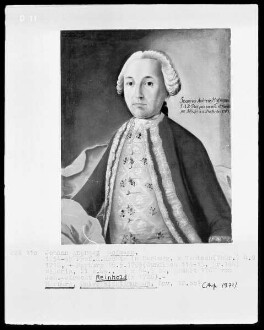 Bildnis des Johann Andreas Hofmann, 1754-1795 Professor der Rechte in Marburg (1716-1795)