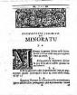 ˜Joh. Ulrici Crameri ... Diatribe iur.œ de minoratu in familiis illustribus : ad testamentum Balthasaris Episcopi Vratislaviensis de a. 1561