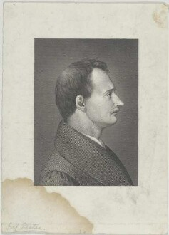 Bildnis des August von Platen-Hallermünde