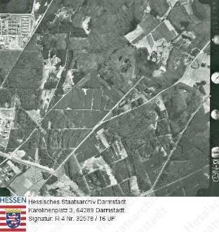 Gießen, Waldgebiet bei Gießen / Luftaufnahme