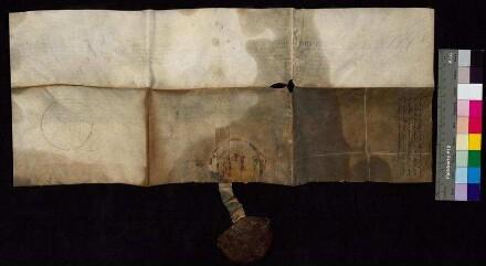 Bürgermeister und Rat der Stadt Bautzen leihen sich von Caspar Peucer, Professor der Universität Wittenberg, 1.500 Gulden. Eine nachträgliche Aufschrift bemerkt, dass diese Schuld am 16. Juni 1613 abgelöst worden ist.