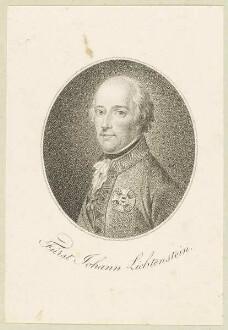 Bildnis des Fürst Johann Lichtenstein