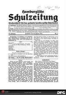 Der Krieg - als der grosse Volksschulerzieher!