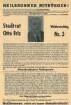 Flugblatt der Demokratischen Volkspartei zur Wahl von Stadtrat Otto Friz in Verfassunggebende Landesversammlung
