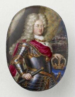 Porträtminiatur des Kurfürsten Johann Wilhelm