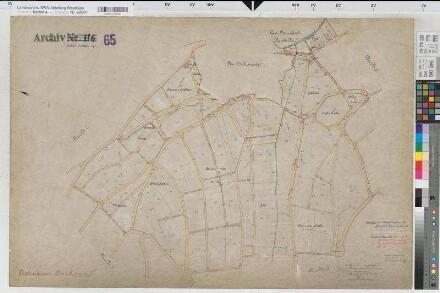 Diedenshausen (Bad Berleburg), Zusammenlegung Diedenshausen, Urkarte 2 Diedenshausen Flur 8