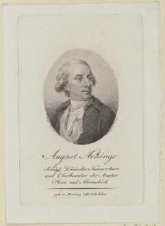 Bildnis des August Hennings