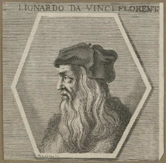 Bildnis des Lionardo da Vinci