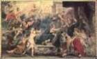 Ölskizzen zur Medicigalerie — Die Apotheose Heinrich 4. und die Proklamation der Regentschaft