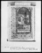 Lateinisches Stundenbuch — Pfingsten, Folio 125verso