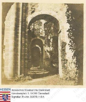 Arnsburg in Oberhessen, Kloster / Kirchenschiff