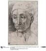 Kopf eines Mannes mit Kappe (vielleicht Porträt des Dante Alighieri)