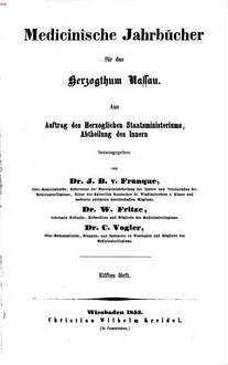 Resultate der operativen Geburtshülfe im Herzogthum Nassau vom J. 1821 - Ende 1842 : Aus den Sanitaetsberichten in statistischer und technisch-medicinischer Beziehung zusammengestellt