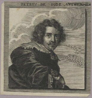 Bildnis des Petrus de Iode