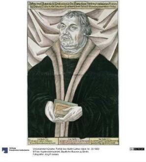 Porträt des Martin Luther