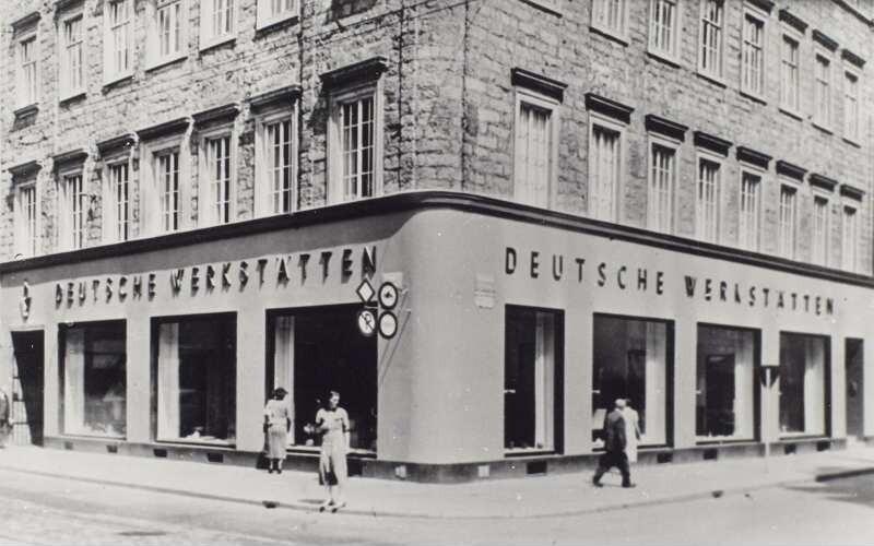 Photographie Der Verkaufsstelle Der Deutschen Werkstätten Hellerau