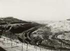 Hirschfelde, Braunkohletagebau, elektr. Grubenbahnsystem