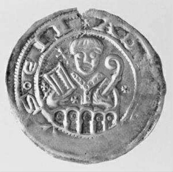 Erzbischof Adalbert I. von Saarbrücken 1111-1137 / Erzbischof Adalbert II. von Saarbrücken 1138-1141 - Pfennig