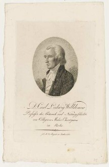 Bildnis des Carl Ludwig Willdenow
