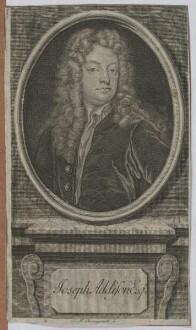 Bildnis des Joseph Addison