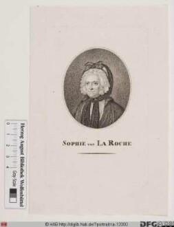 Bildnis (Marie) Sophie von La Roche, geb. Gutermann, Edle von Gutershofen