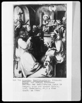 Die sieben Schmerzen der Maria — Der zwölfjährige Jesus im Tempel
