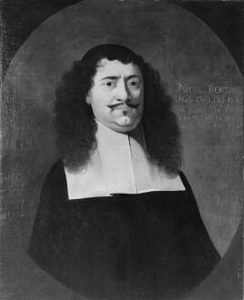 Bildnis des Nicolaus Berthold, 1660-1687 Professor der Logik und Metaphysik in Marburg (1630-1687)