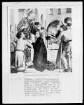 Laurentiusaltar — Almosenspende des heiligen Laurentius