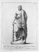 Veteris Latii antiquitatum amplissima collectio: ... Volumen secundum. 5 Teile., 5. Teil: Antiatinorum, et Norbanorum Rudera, Tafel VI: Aesculapii signum