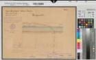 Lippe-Seitenkanal - Blatt 7 Längenprofil - Station 130+84 - 137+5 - 1908 - 1 : 100/2500 - 35 x 49 - farb. Druck - Bauamt Lünen - Regierung Arnsberg