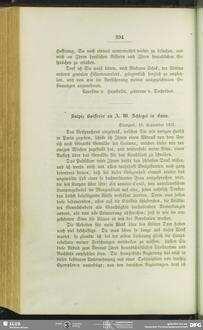 Sulpiz Boisserée an August Wilhelm von Schlegel, Stuttgart, 19.09.1821