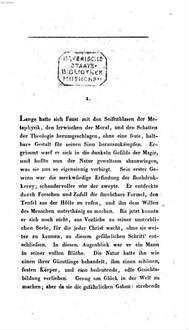 Werke. 3. Faust's Leben, Thaten und Höllenfahrt. - XIV, 300 S.