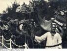 Schiffsreise Ägypten - Palästina - Syrien 1934. Kameltreiber von Kairo