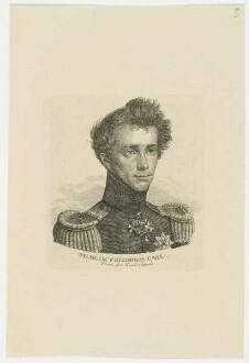 Bildnis des Wilhelm Friedrich Carl Prinz der Niederlande
