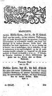 Siegm. Jac. Baumgartens Nachrichten von merkwürdigen Büchern. 11, 11 = Stück 61 - 66. 1757